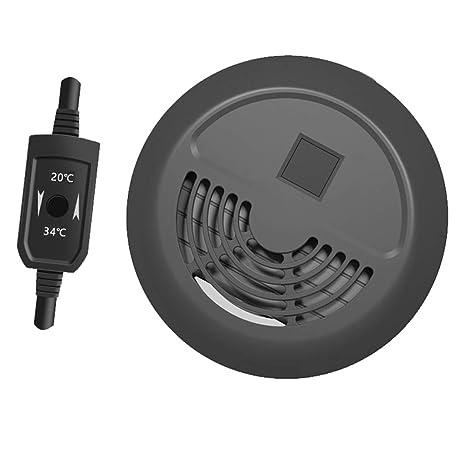 Calentador de acuario Mini Digital Calentador Sumergible de bajo Nivel de Agua, termostato Inteligente,