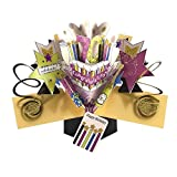 THE ORIGINAL POP UPS - 026 - 70TH BIRTHDAY - GREETING CARD [Office Product]