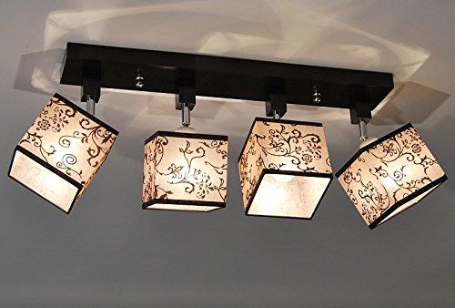 Plafoniere Per Tetto In Legno : Plafoniera illuminazione a soffitto in legno massiccio lls454dpr