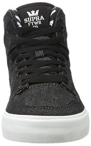 Skate Shoe Black 023 White Supra Vaider 16wx50q0a