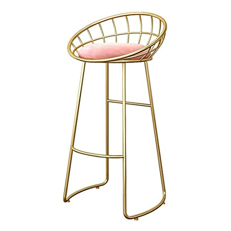 Stupendous Amazon Com Bar Stool Iron Bar Chair High Stool Creative Creativecarmelina Interior Chair Design Creativecarmelinacom