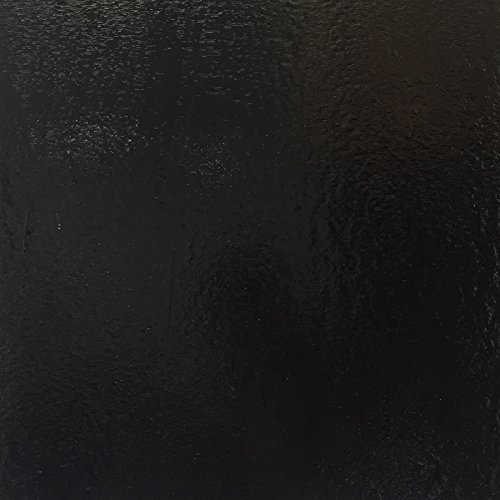 Black Stained Glass Sheet (5 sheets (8''x10'' each sheet))