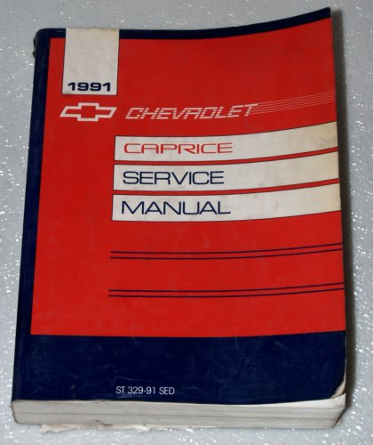 1991 chevrolet caprice caprice classic service manual general rh amazon com 1991 chevrolet caprice owners manual 1991 Crown Victoria