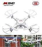 Depstech®Children's Day Gift Upgraded Version Syma X5C 4 Channel 2.4ghz Rc Explorers Quadcopter Drone with 2.0MP Camera DSFJ0005
