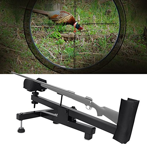 Shooting Rest for Rifles, Stable Rifle Stand Bench Shooting Rest Air Gun Sighting Padded Stand for Range Shooting, Scope Sighting, Cleaning, Maintenance