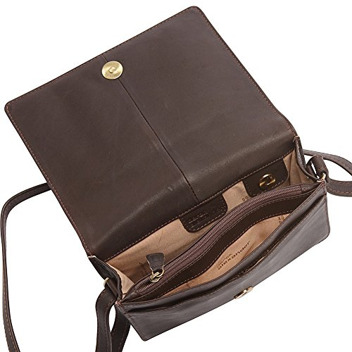 Flap 4 Derek Multi Brown 3 with Small Alexander Crossbody Compartment wq77ItZ