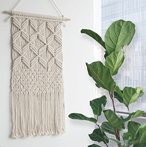Macrame Wall Hanging Tapestry Boho Home Decor, 14