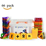 Magnetic Building Blocks Educational Tiles or Toys for Toddlers Kids- 66 Pcs & Storage Box Included