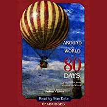 Around the World in 80 Days Audiobook by Jules Verne Narrated by Jim Dale