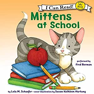 Mittens at School Audiobook