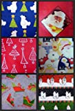 Flat Gift Wrap 9 Sheet Pack 50 Sq Ft Holiday Wrapping Paper