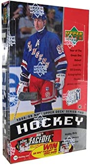 Upper Deck 1998-99 NHL Hockey Card Series 2 Hobby Box (24 Packs)