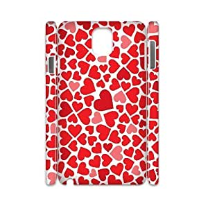 QNMLGB Hard Plastic of Love Pink Cover Phone Case For samsung galaxy note 3 N9000 [Pattern-1]