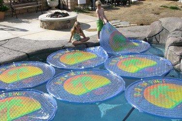 Solar Sun rings x 5 Solar Swimming pool cover SSR