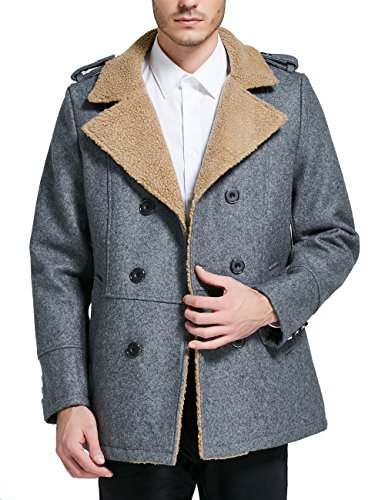 Double Breasted Walking Coat - 6