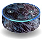 MightySkins Skin for Amazon Echo Dot (2nd Gen) - Angry Ripple | Protective, Durable, and Unique Vinyl Decal wrap Cover | Easy to Apply, Remove, and Change Styles | Made in The USA