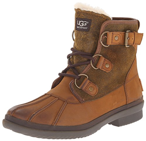 UGG Women's Cecile Winter Boot, Chestnut, 9 B US