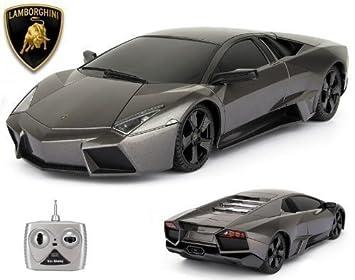 Amazon.com: Remote Control Lamborghini Reventon 1/18 Scale RC: Toys U0026 Games