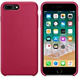 For iPhone 8 Plus 5.5Inch Case Sinfu Protective Silicone Soft Ultra-Thin Stylish Case Cover (E)