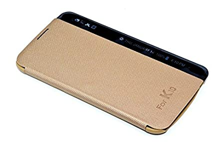 low priced e4e32 1a05c SmartLike Leather Window case Flip Cover for LG K10: Amazon.in ...