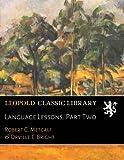 Language Lessons. Part Two