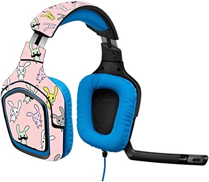 Easy to Apply Bunny Bunches Protective MightySkins Skin Compatible with Logitech G430 Gaming Headset Remove Durable and Change Styles and Unique Vinyl Decal wrap Cover Made in The USA