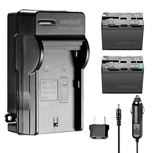 Battery Charger AC Adapter for Sony NP-F960 NP-F970 NP-F770 NP-F550 - 2