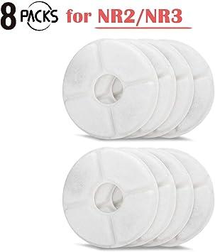 Amazon.com: iPettie - 8 filtros de agua para fuente de agua ...
