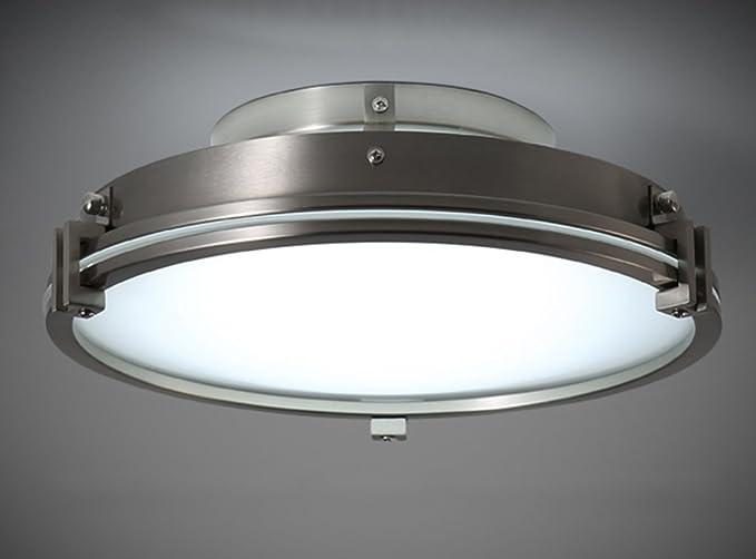 Plafoniere Vetro Vintage : Home mall lampada da soffitto a led 12w bianco caldo fatto di ferro