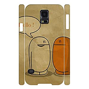 Vivid Love Series Pattern Hard Shell Case Cover for Samsung Galaxy s5 i9600