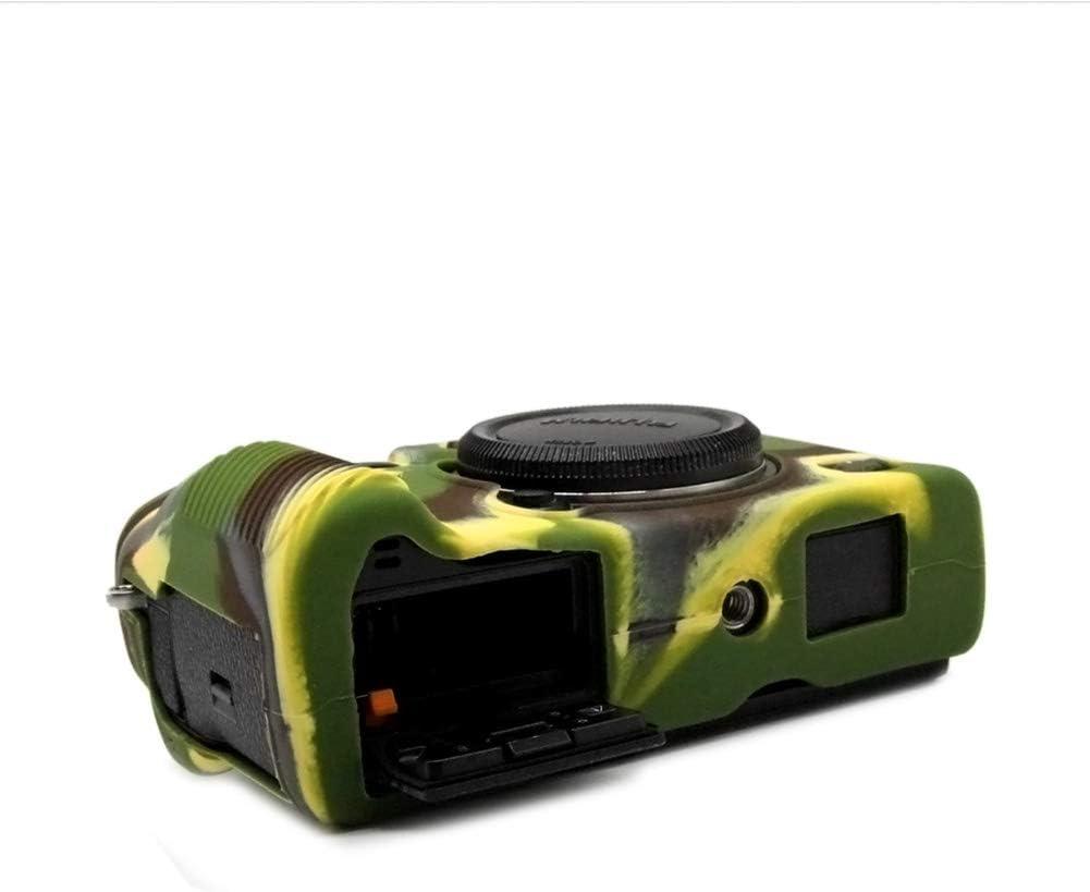 Camouflage kinokoo Silicone Cover for Fuji X-T3 Protective Silicone Case Rubber Cover
