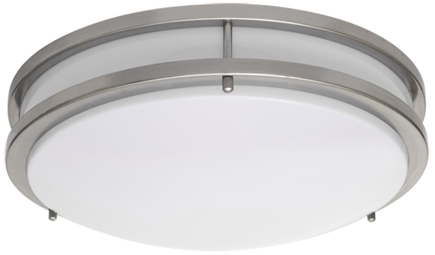 altair lighting brushed nickel  wide flushmount ceiling light  - altair lighting brushed nickel  wide flushmount ceiling light led wdimmable k energy star   amazoncom