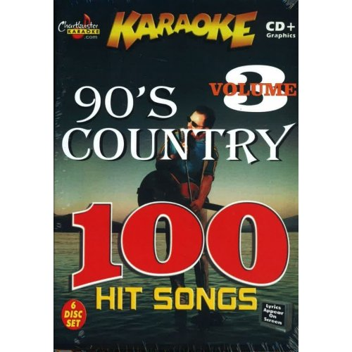 Chartbuster Essential 100 Songs Pack CBEP461 90s Country Vol. 3 CD + ()