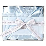 Ritorujirafu Little Giraffe - Dealer imports] Luxe baby blanket (Blue) / BOX containing lg0016-01B