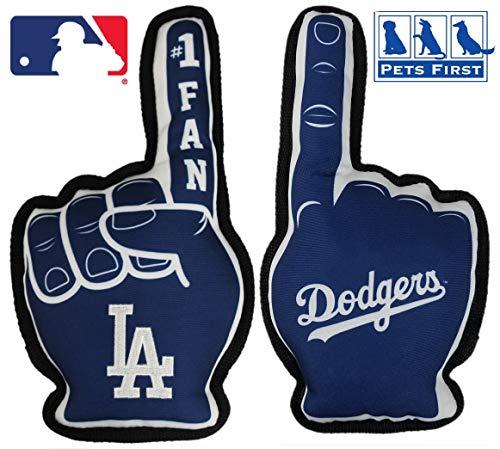 MLB Los Angeles Dodgers Best SPORTS Dog Toy, Blue, 14 x 5″