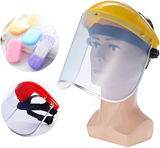 Anti-splash Chemical Paint Headwear Anti-Fog Welding Helmet Full Face