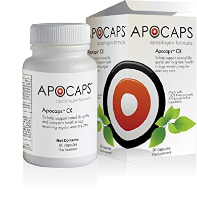 Apocaps CX Apoptogen Formula for Dogs (90 capsules) from Apocaps | EverPup