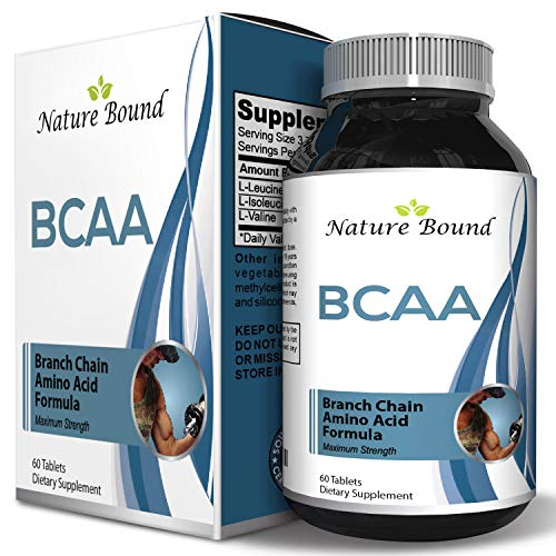 3000 mg Dosage BCAA Pills – Pure Lean Gains – Men + Women – Best Concentrated Muscle Repair – Build Muscles + Recovery – Essential Amino Acids Supplements - by ()
