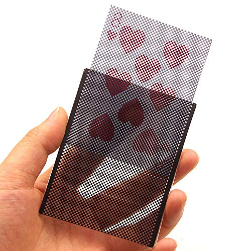 Magic props, USHOT Card Vanish Illusion Change Sleeve Close-Up Street Magic Trick Choose Hidden ()
