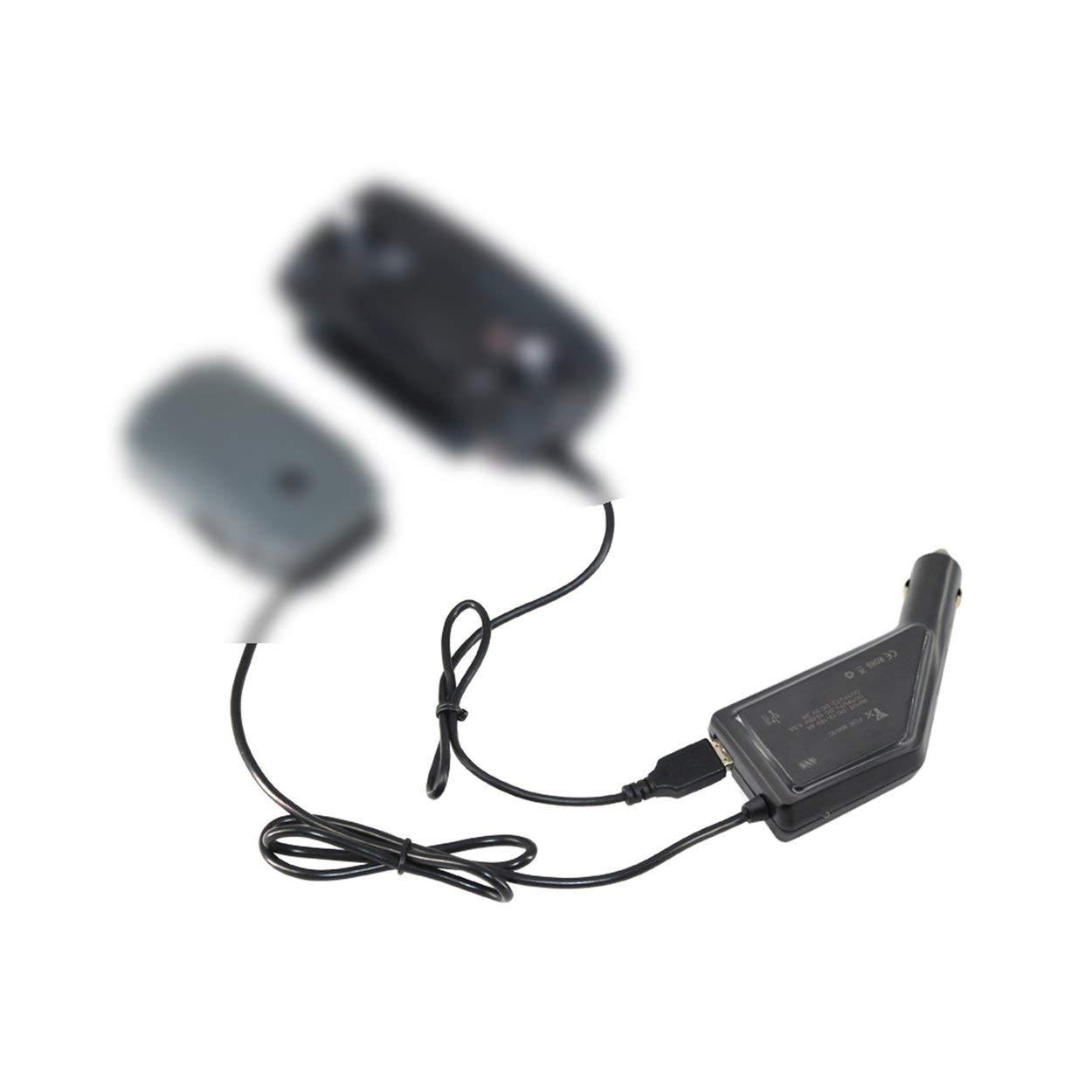 Lorenlli 2 en 1 Batterie Rapide Chargeur de Voiture Intelligent avec Port USB de Charge de la s/écurit/é pour DJI Mavic Pro Drone /émetteur t/él/éphone Portable Tablette