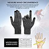 TRENDOUX Winter Gloves for Men, Touch Screen Glove