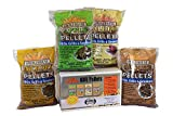 Smokehouse Products Wood Pellets (4 Pack Assortment), 5 lb