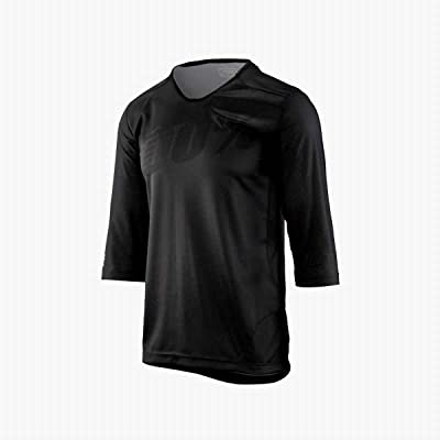 100% Maillot Airmatic 3/4 Homme, Noir, FR : M (Taille Fabricant : M)