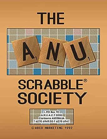 The ANU Scrabble Society (English Edition) eBook: Bailiff, Alexander: Amazon.es: Tienda Kindle