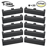 S-Union New Replacement 10 Pcs HDD Hard Drive Door Caddy Cover for Dell Latitude E6430 E6530 E6330 Series Laptop (with Screws)