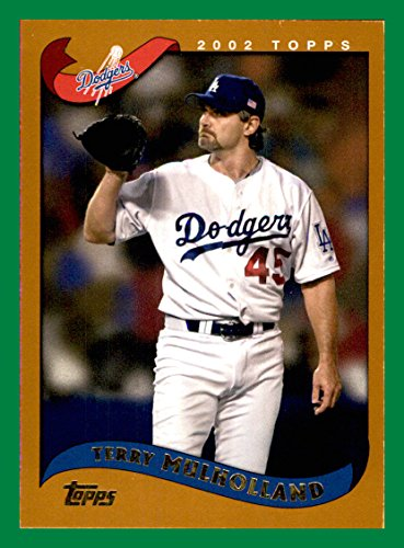 2002 Topps #437 Terry Mulholland LOS ANGELES DODGERS