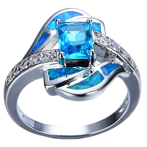 CiNily Silver Aquamarine Jewelry Gemstone product image