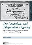 Die Landesheil- und Pflegeanstalt Tiegenhof : Die Nationalsozialistische Euthanasie in Polen Waehrend des Zweiten Weltkrieges, Schwanke, Enno, 3631652364