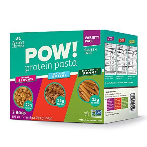 Ancient Harvest POW! Gluten-Free Green Pasta Variety Pack