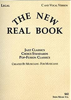 Amazon the all jazz real book c version 9781883217143 the new real book fandeluxe Gallery